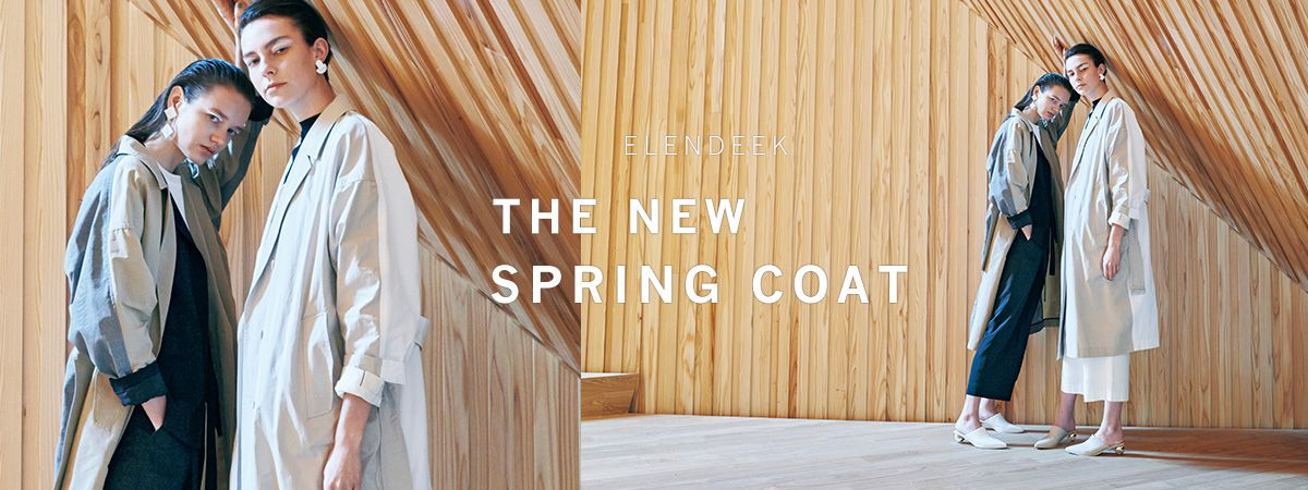 THE NEW SPRING COAT