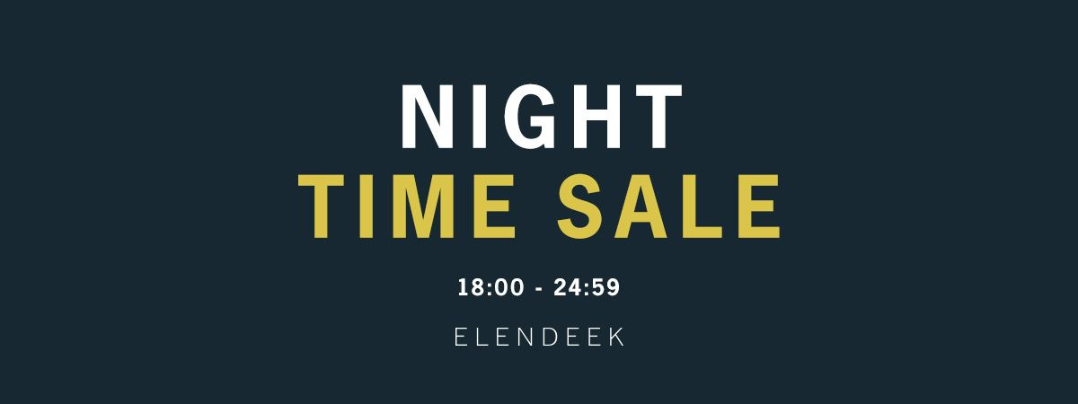 NIGHT TIME SALE