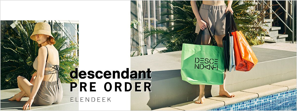 descendant '21 SUMMER COLLECTION